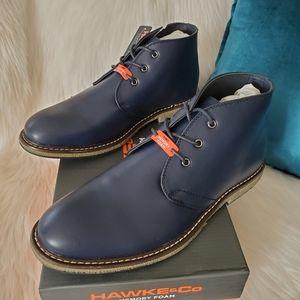 NEW Hawke & Co Kalahari Chukka Boots Navy sz 10